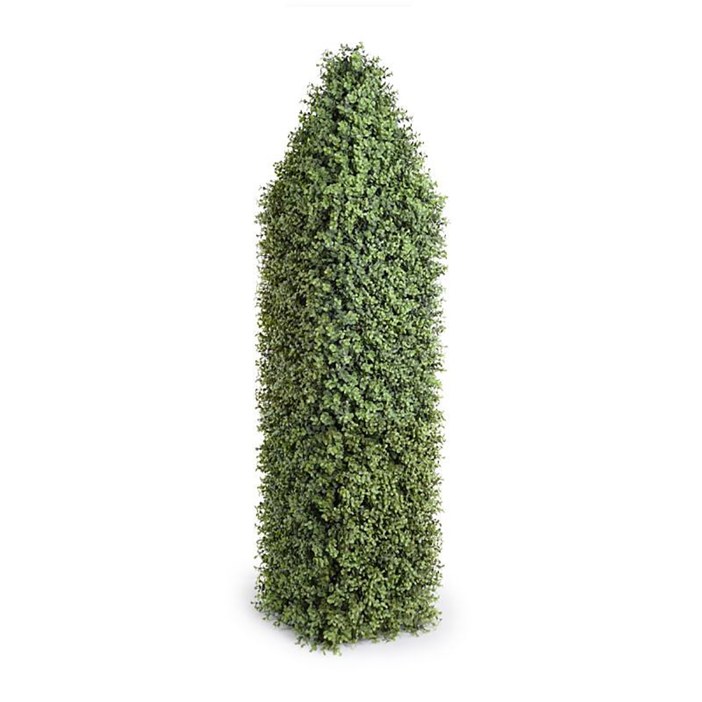 Enduraleaf 54in Faux Boxwood Obelisk