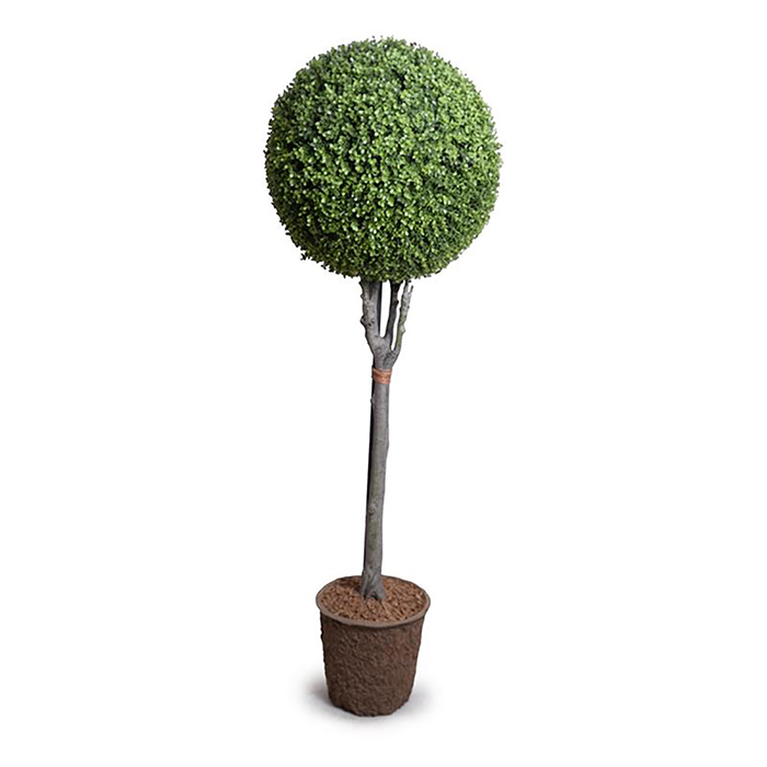Enduraleaf 68 in Faux Boxwood Ball Topiary