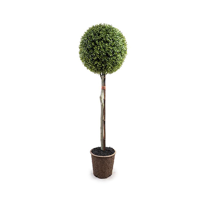 Enduraleaf 54 in Faux Boxwood Ball Topiary