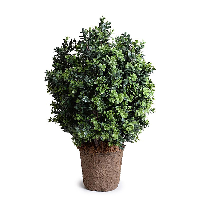 Enduraleaf 30 in Faux Boxwood Shrub