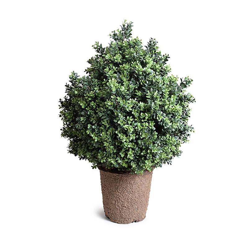 Enduraleaf 38 in Faux Boxwood Shrub