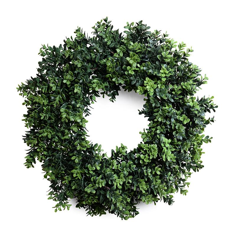 22in Faux Boxwood Wreath