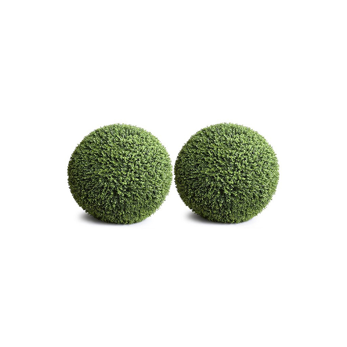 Enduraleaf 11 in Faux Boxwood Ball Set