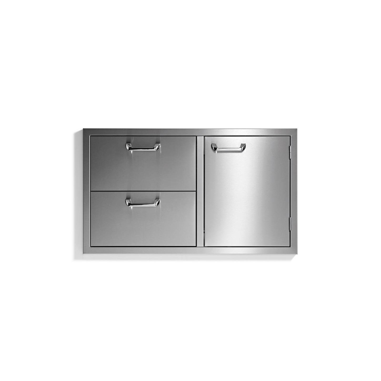 36in Sedona Double Drawer and Door Combo