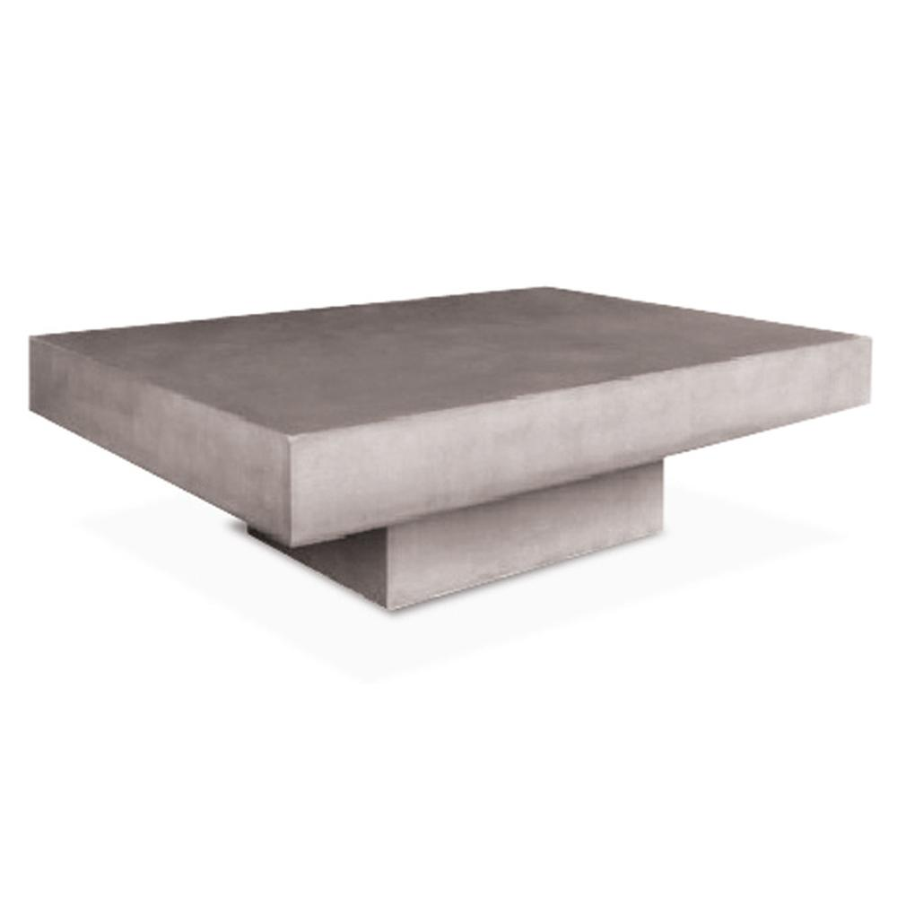 Kannoa Urban Cement 43in Coffee Table Specs Sheet