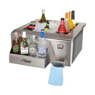 Alfresco Bartender & Sink System - 14in Wide Speed Rail