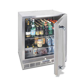 Alfresco Grills 28in Single Door Refrigerator