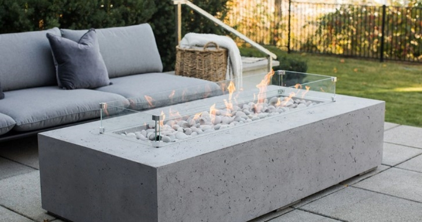 Nature Gas Fire Pits