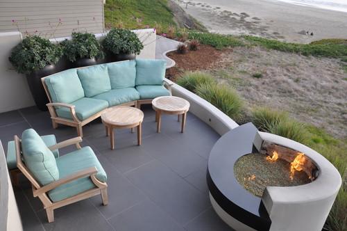 Modern Beach Vision Modern Patio, San Luis Obispo
