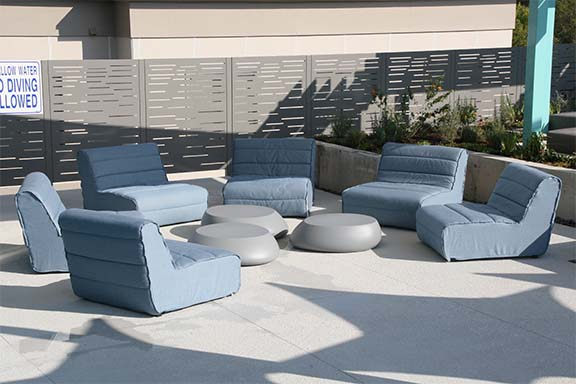 Roof Sitting Area