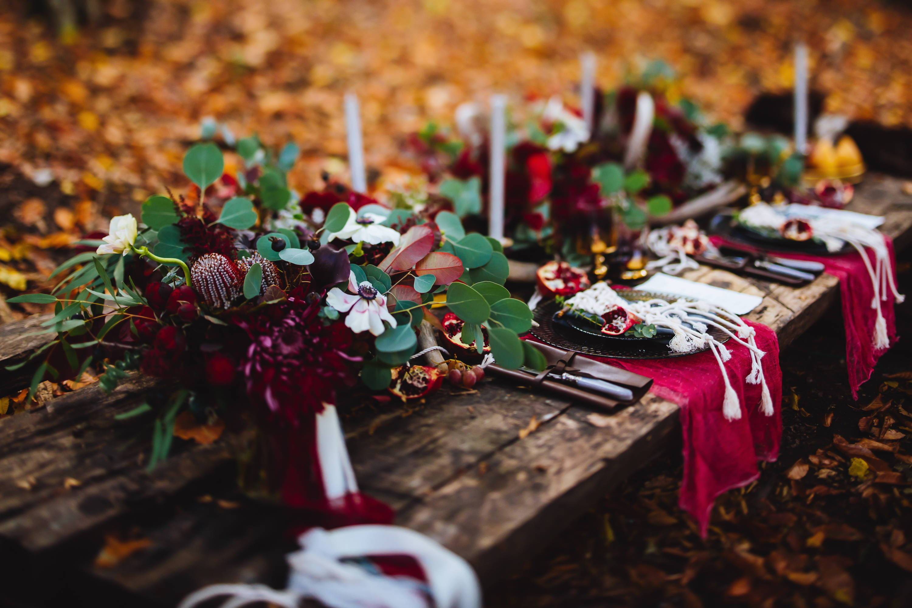 Tablescape Ideas for an outdoor dinner party