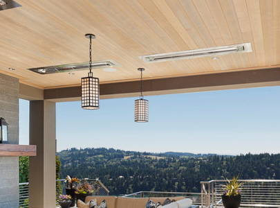 Built-In/Ceiling-Mounted Patio Heaters