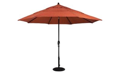 Treasure Garden 11' Octagonal Aluminum Auto Tilt Umbrella