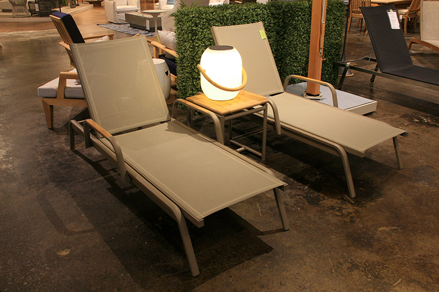 Povl Outdoor Icon Chaise Lounge Set