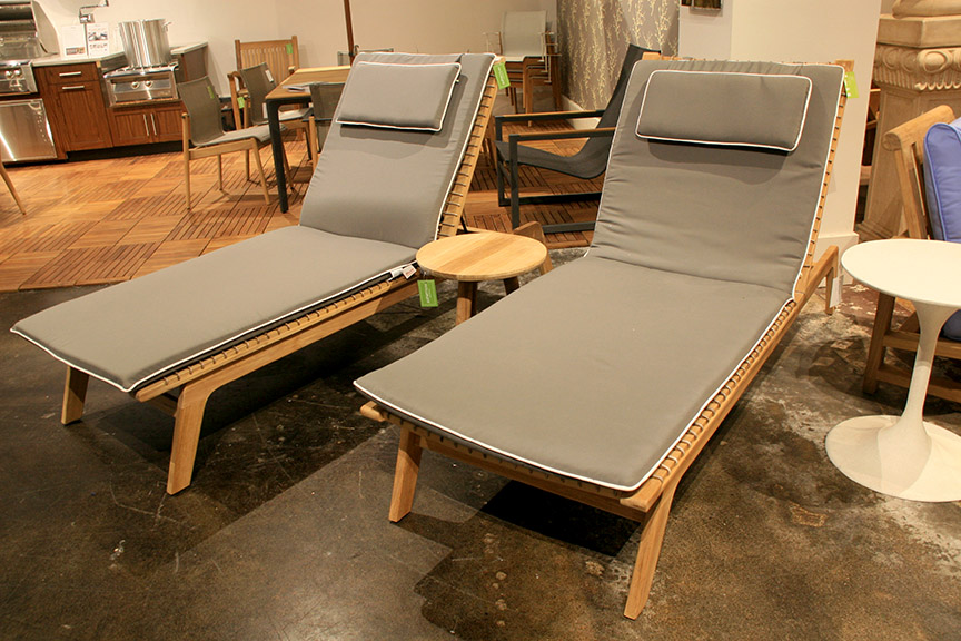 Povl Outdoor Olsen Chaise Lounges