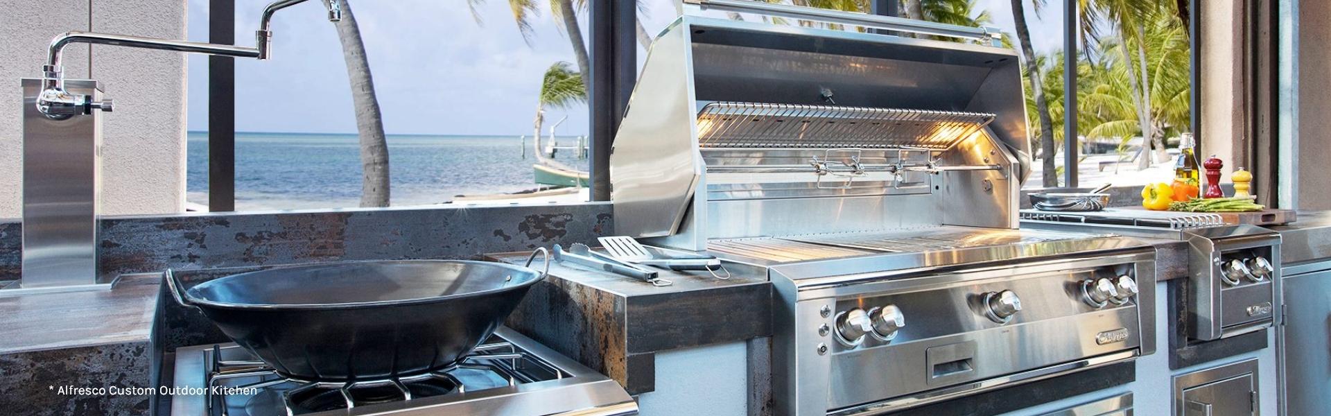 Alfresco Custom Outdoor Kitchen