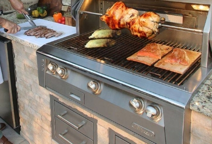 INSULATING JACKETS FOR BUILT-IN GRILLS