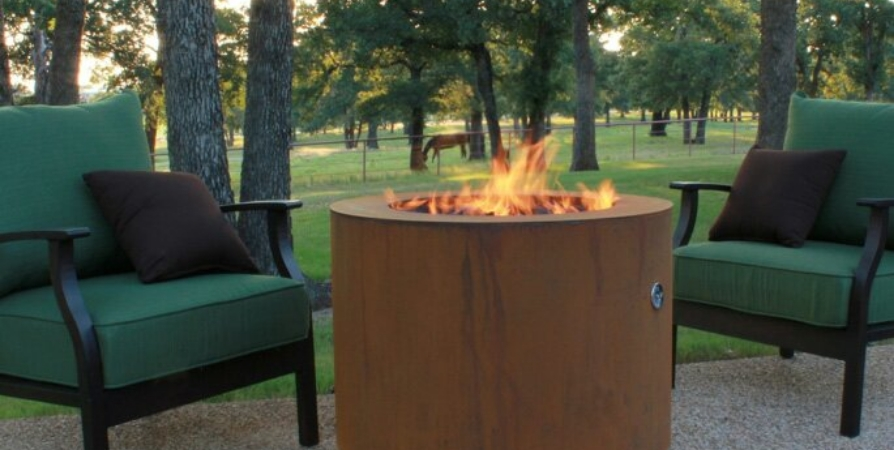 Round Fire Pits