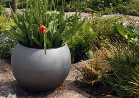 Capital Garden Round Planters