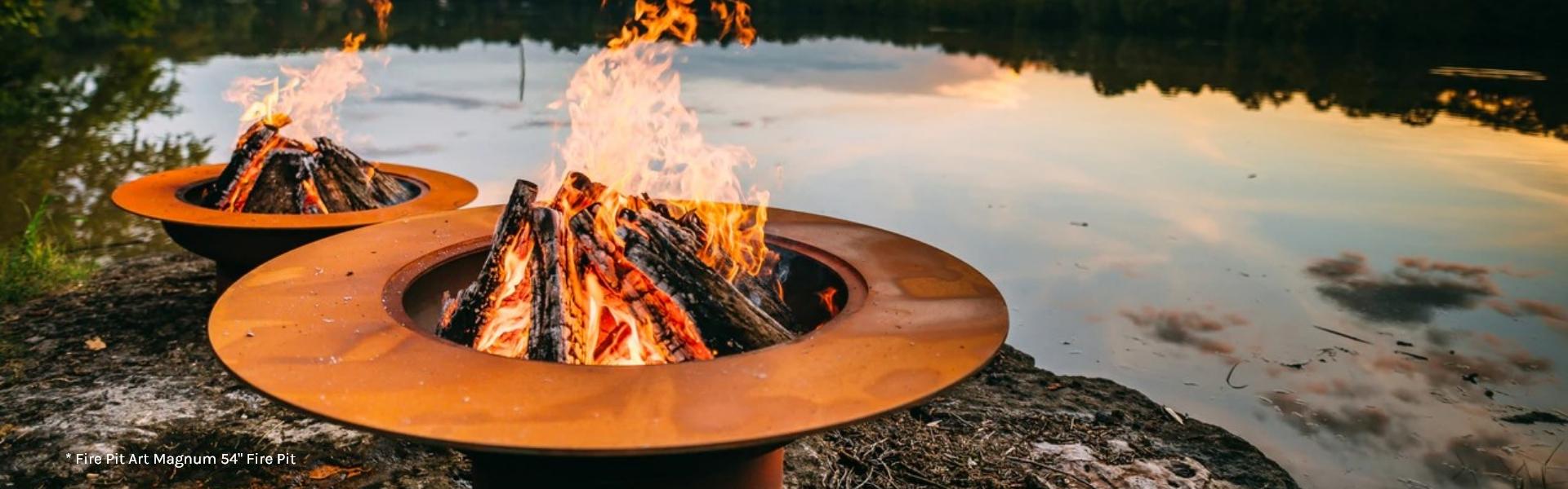 Fire Pit Art Magnum 54in Fire Pit