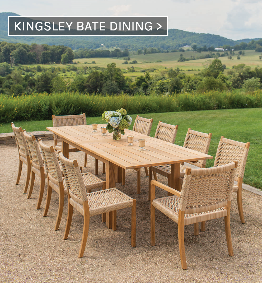 Kingsley Bate Dining Furniture