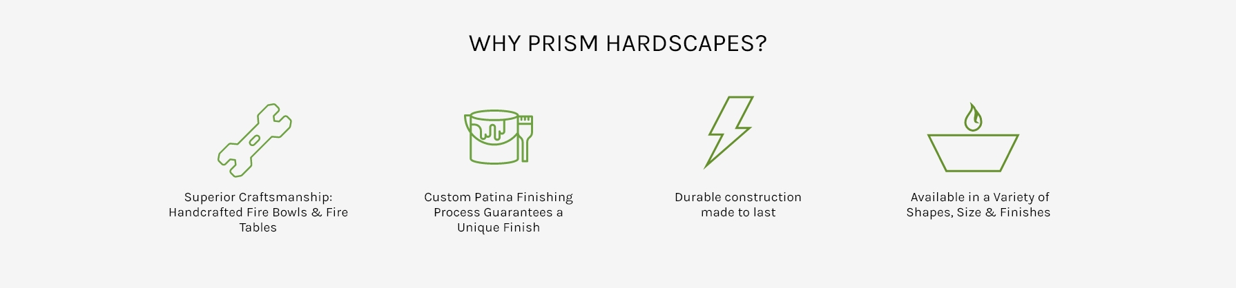 Why Prism Hardscapes?