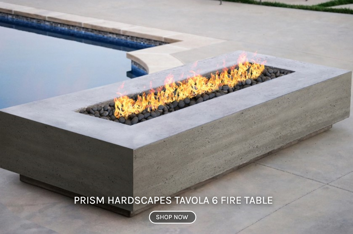 Prism Hardscapes Tavola 6 Fire Table