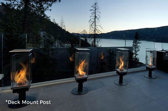 Deck Mount Post
